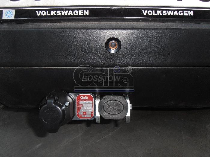 Anhängerkupplung VW-Golf V Cross, Baureihe 2005- Ausf.:  horizontal