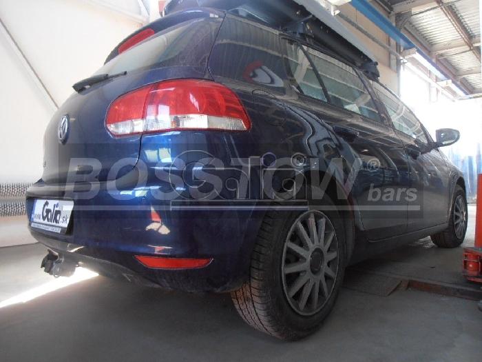 Anhängerkupplung VW-Golf V, Limousine, 4 Motion, Baureihe 2003- Ausf.:  horizontal