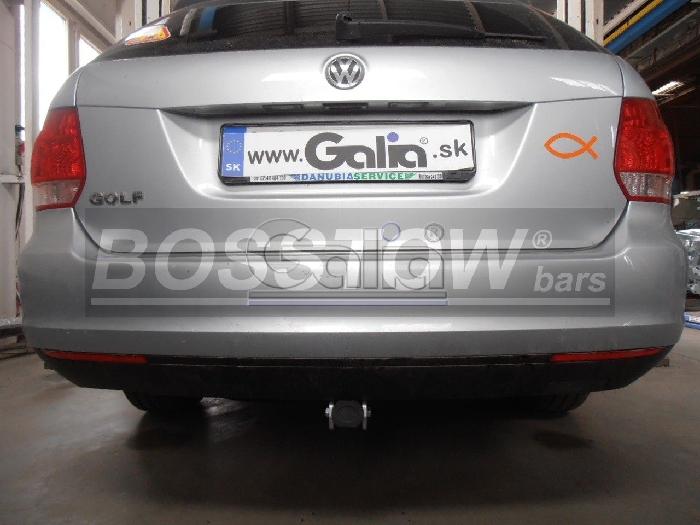 Anhängerkupplung VW Golf VI, Variant, Baureihe 2009-  horizontal