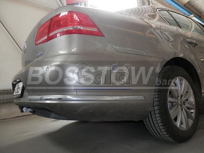 Anhängerkupplung für VW-Passat 3c, spez. Alltrack Variant, Baureihe 2012-2014  horizontal