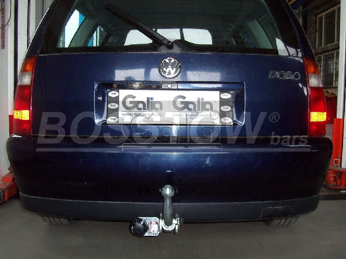 Anhängerkupplung VW Polo (6KV)Variant, Baureihe 1997-1999  horizontal