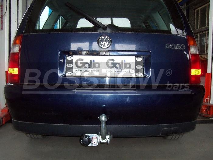 Anhängerkupplung für VW-Polo (6KV)Lim, Stufenheck, Classic, Baureihe 1999-  horizontal