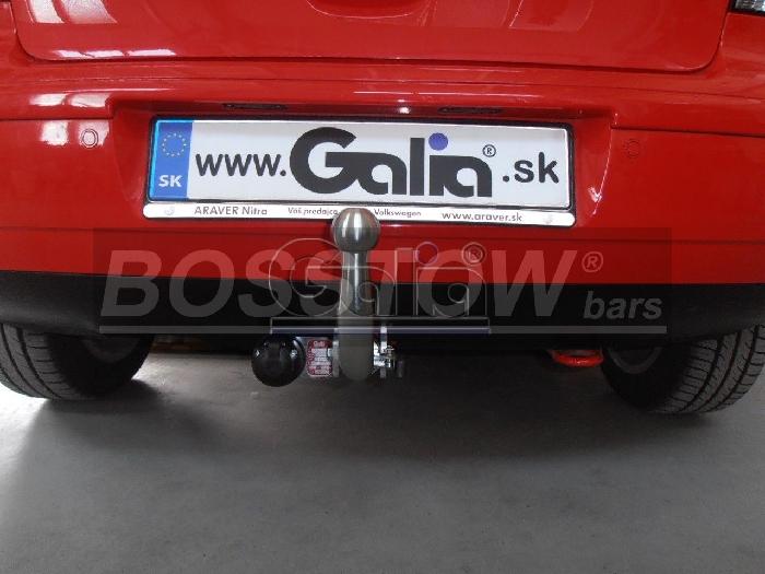 Anhängerkupplung VW Polo (9N)Steilheck/ Coupé, inkl. Cross, nicht Fun, Baureihe 2001-2005  horizontal