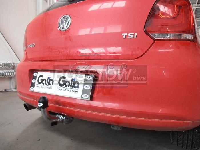 Anhängerkupplung VW-Polo (6C)GTI, Baureihe 2014-2017 Ausf.:  horizontal