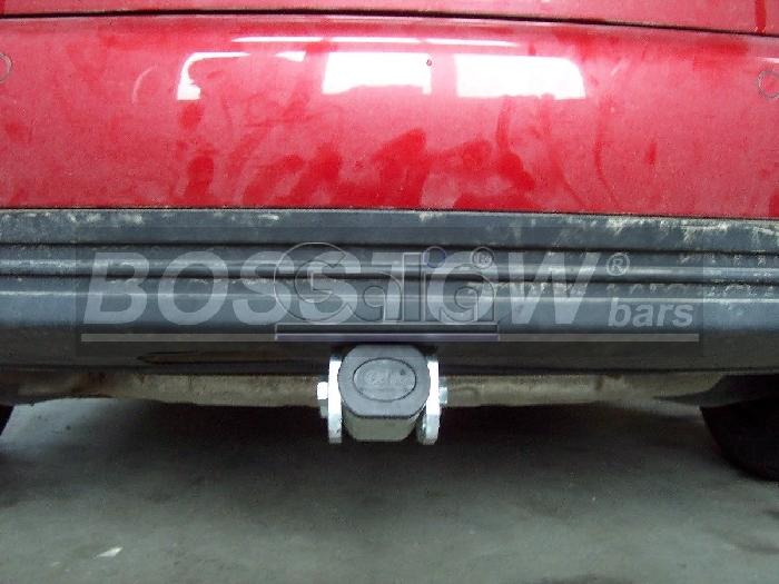 Anhängerkupplung für VW-Touran Van, spez. 7 Sitzer m. Erdgas(Ecofuel), Baureihe 2007-2010  horizontal