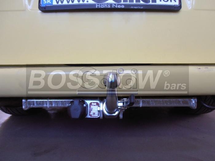 Anhängerkupplung VW-Transporter T4, Kasten Bus Syncro, inkl. Caravelle Multivan, Baureihe 1998- Ausf.:  horizontal