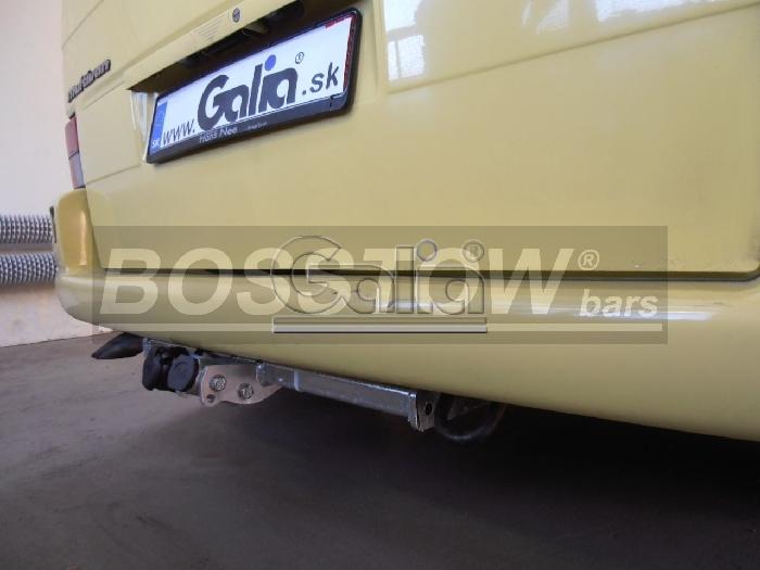 Anhängerkupplung für VW-Transporter T4, Kasten Bus Syncro, inkl. Caravelle Multivan, Baureihe 1990-1995  horizontal