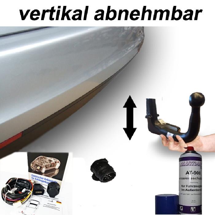 Anhängerkupplung Nissan-Juke spez. N-Design, Baureihe 2019- Ausf.:  vertikal