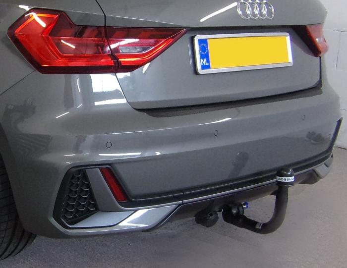 Anhängerkupplung Audi-A1 5-Türer Sportback Typ GB, speziell S-Line, nur für Heckträgerbetrieb, Baureihe 2019- Ausf.:  vertikal