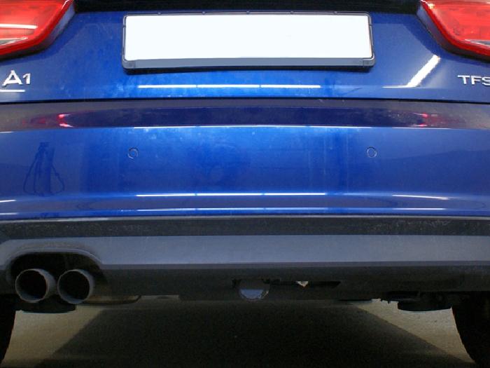 Anhängerkupplung für Audi-A1 3-Türer, Baureihe 2010-2018  horizontal