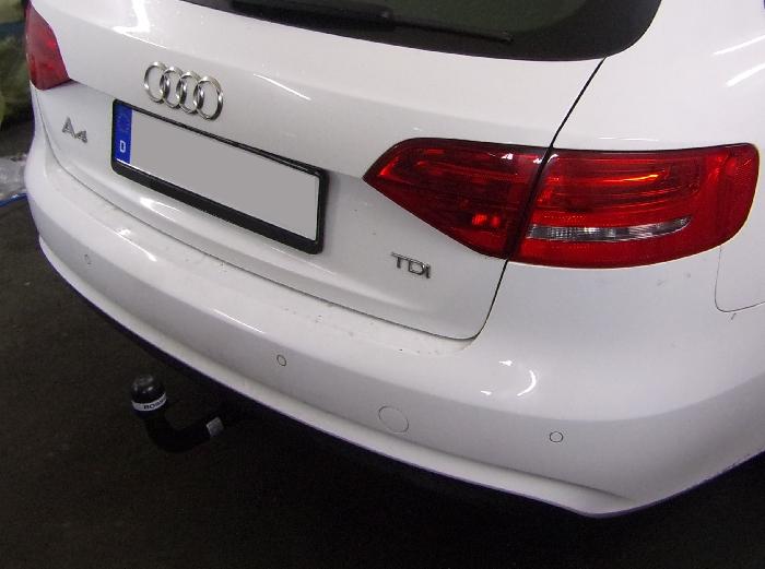 Anhängerkupplung für Audi-A4 Avant nicht Quattro, nicht RS4 und S4, speziell S-Line, Baureihe 2012-2015  vertikal