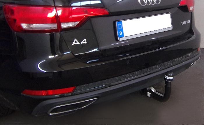 Anhängerkupplung für Audi-A4 Avant nicht Quattro, nicht RS4 und S4, Baureihe 2015-  vertikal