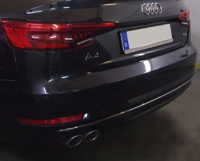 Anhängerkupplung Audi-A4 Limousine nicht Quattro, nicht RS4 und S4, Baureihe 2015- Ausf.:  vertikal
