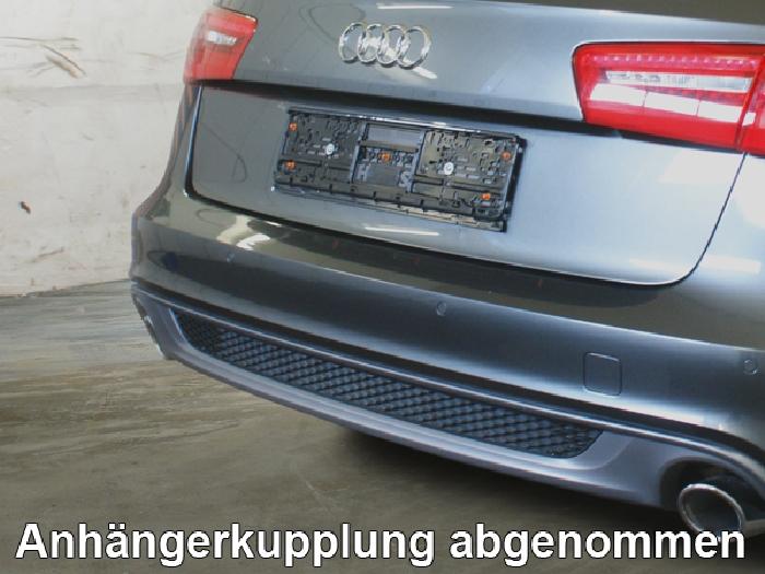 Anhängerkupplung für Audi-A6 Avant 4GD/4G, C7, Baureihe 2014-2018  vertikal