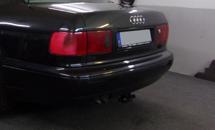 Anhängerkupplung Audi-A8 D2, 4D, Baureihe 1999-2002 Ausf.:  horizontal