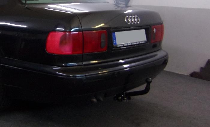 Anhängerkupplung Audi A8 D2, 4D, Baureihe 1994-1999  horizontal