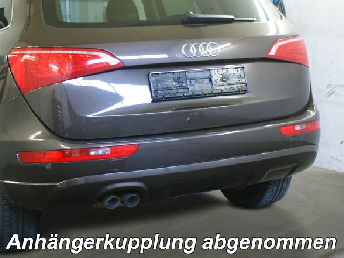 Anhängerkupplung für Audi-Q5, Baureihe 2008-2017  vertikal