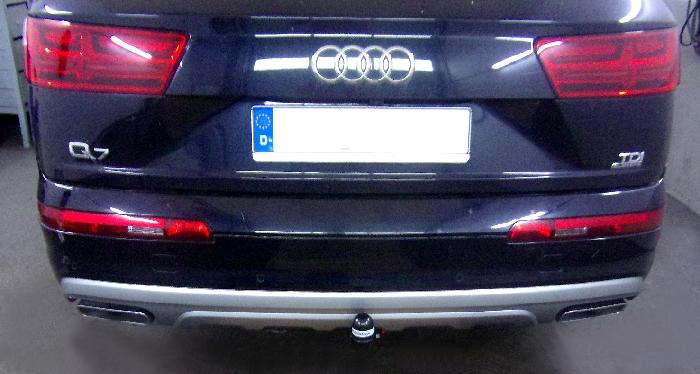 Anhängerkupplung Audi-Q7, Baureihe 2015-,  Ausf.:  vertikal