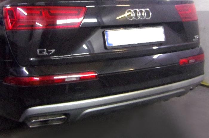 Anhängerkupplung Audi-Q7, Baureihe 2015-  vertikal