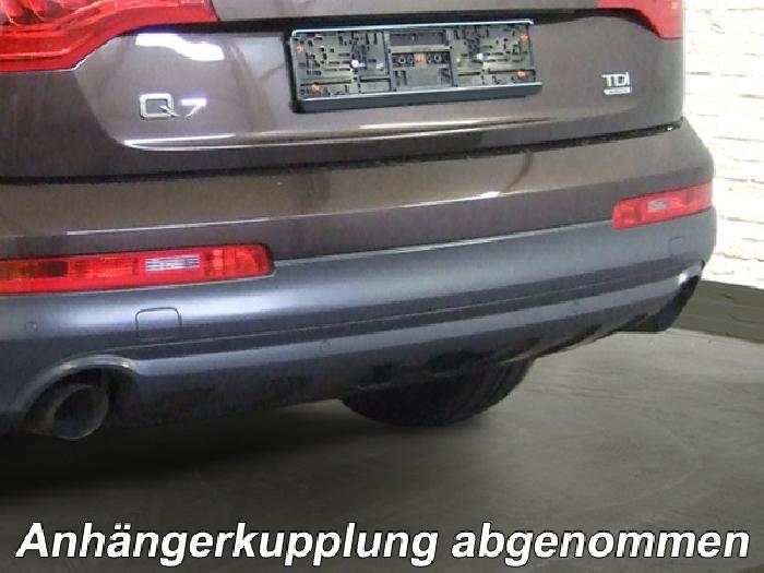 Anhängerkupplung Audi-Q7, Baureihe 2006-2015  vertikal