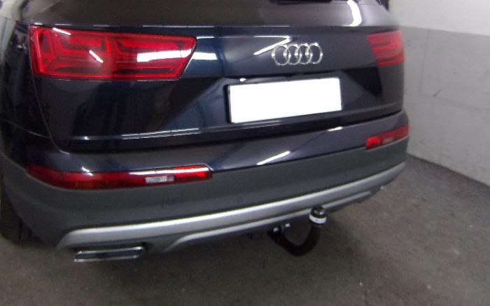 Anhängerkupplung Audi Q7, Baureihe 2015-  vertikal