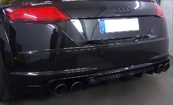 Anhängerkupplung Audi-TT FV/8J/8S, nur für Heckträgerbetrieb, Baureihe 2014- Ausf.:  vertikal