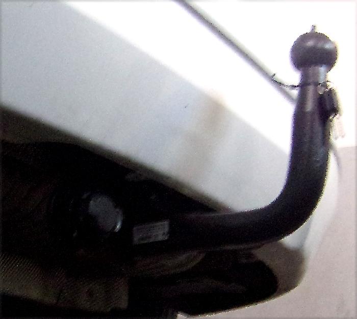 Anhängerkupplung BMW-2er F45 Active Tourer, spez. 225XE, nur für Heckträgerbetrieb, Baureihe 2015- Ausf.:  vertikal
