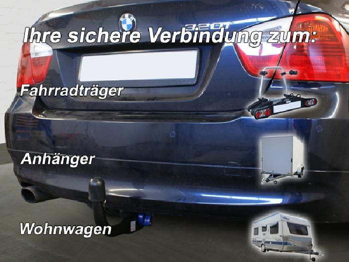 Anhängerkupplung BMW 3er Limousine E90, Baureihe 2010-  vertikal