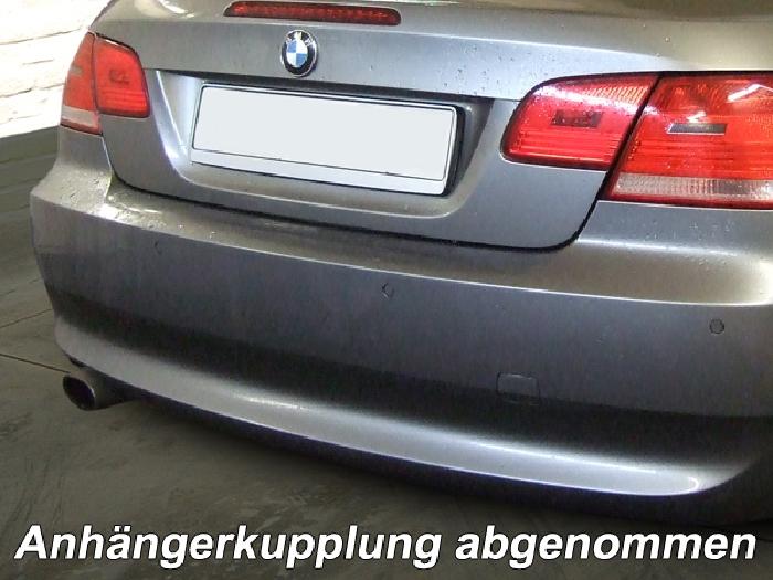 Anhängerkupplung BMW 3er Cabrio E93, Baureihe 2006-  vertikal