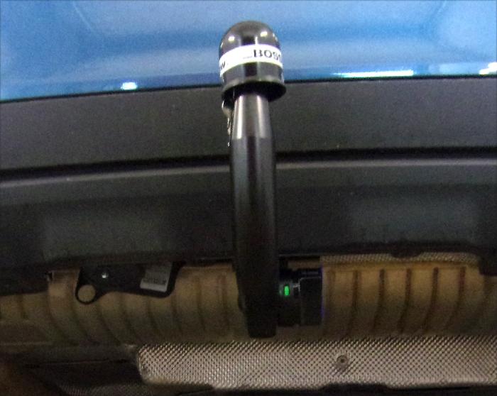 Anhängerkupplung MINI-Countryman SE F60 Countryman John Cooper Works, auch mit Fußsensor, nur für Heckträgerbetrieb, Montage nur bei uns im Haus, Baureihe 2021- Ausf.:  vertikal