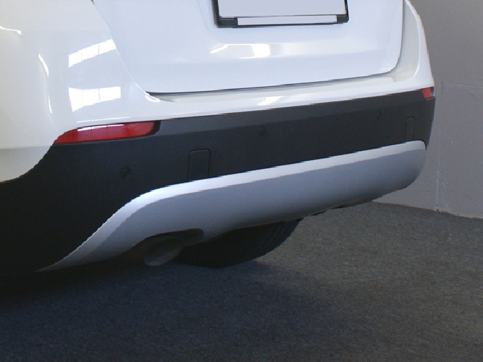Anhängerkupplung für BMW-X1 E84 Geländekombi, spez. M- Paket, Baureihe 2009-  vertikal