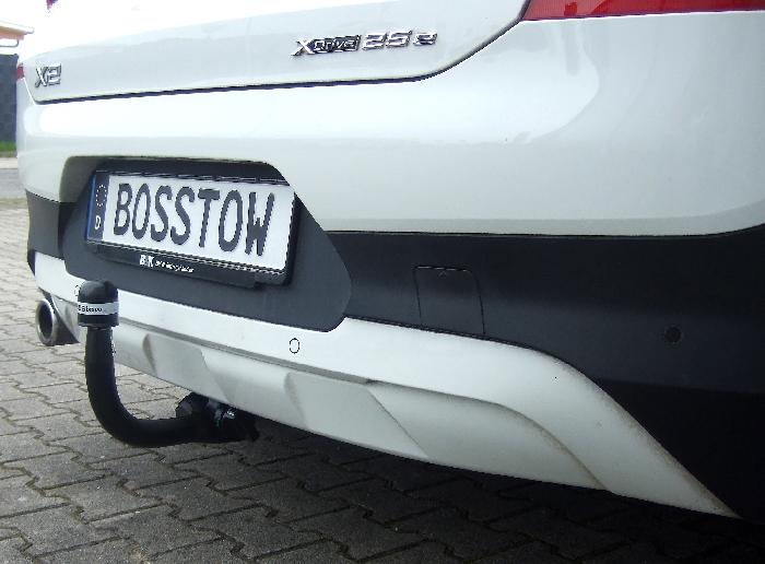 Anhängerkupplung BMW-X2 F39, spez. Plug-In Hybrid, nur für Heckträgerbetrieb, Baureihe 2020- Ausf.:  vertikal