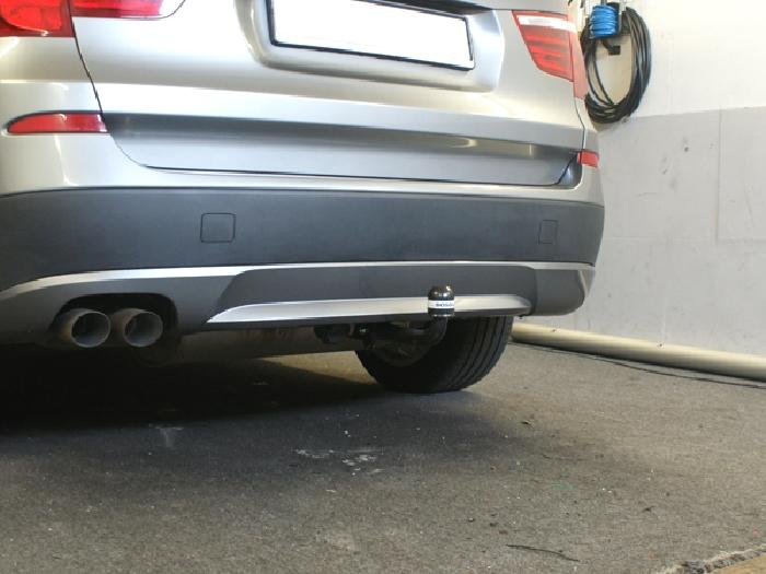Anhängerkupplung für BMW-X3 F25 Geländekombi, Baureihe 2014-  feststehend