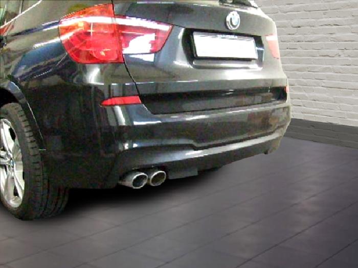 Anhängerkupplung für BMW-X3 E83 Geländekombi, spez. M- Paket, Baureihe 2004-2010  vertikal