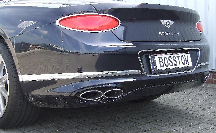 Anhängerkupplung Bentley-GTC Cabrio, nur für Heckträgerbetrieb, Montage nur bei uns im Haus, Baureihe 2018- Ausf.:  vertikal