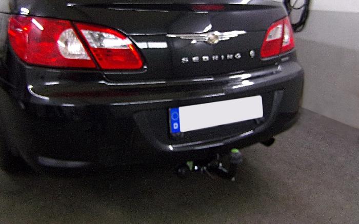 Anhängerkupplung Chrysler Sebring Cabrio, Baureihe 2007-  horizontal