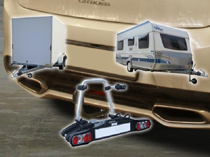Anhängerkupplung Citroen DS5 nicht Hybrid, Baureihe 2012-  horizontal