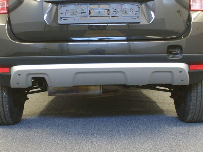 Anhängerkupplung für Dacia-Duster SUV 2WD und 4WD, Baureihe 2010-2012  vertikal