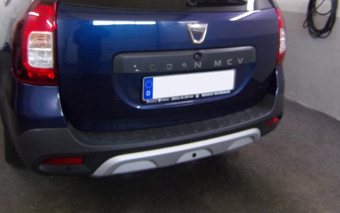 Anhängerkupplung Dacia Logan Kombi MCV, spez. Stepway, Baureihe 2017-  vertikal