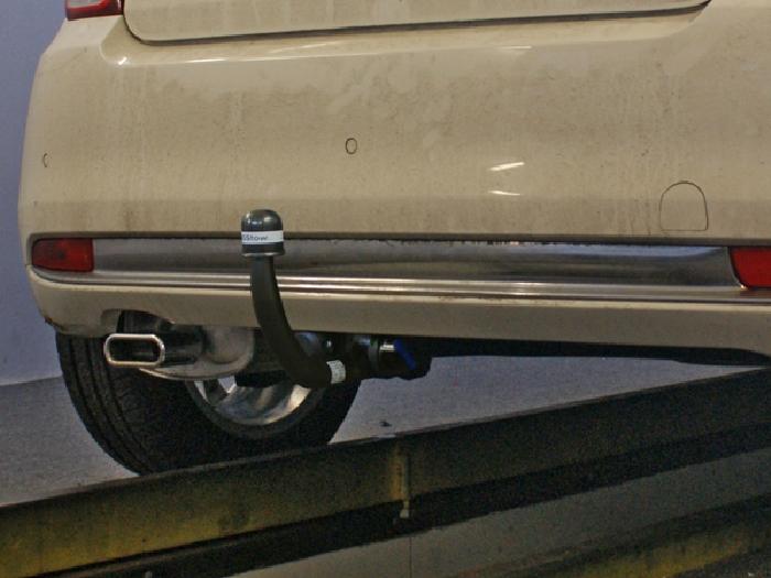 Anhängerkupplung für Fiat-500 Cabrio, Baureihe 2010-2015  vertikal