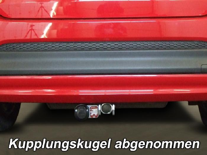 Anhängerkupplung für Fiat-500X Off Road look, City look, Baureihe 2014-  horizontal