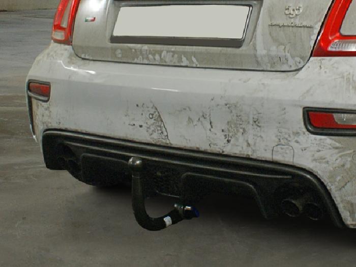 Anhängerkupplung Fiat-500 Cabrio Abarth Carbrio, spez. Abarth 500, 595, Baureihe 2016-