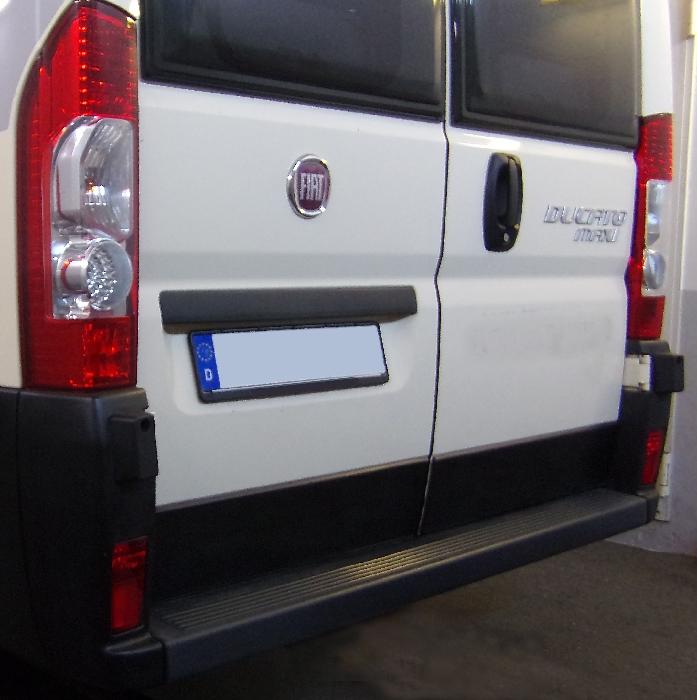 Anhängerkupplung für Fiat-Ducato Kasten, Bus, alle Radstände L1, L2, L3, L4, XL, Baureihe 2011-2014  feststehend