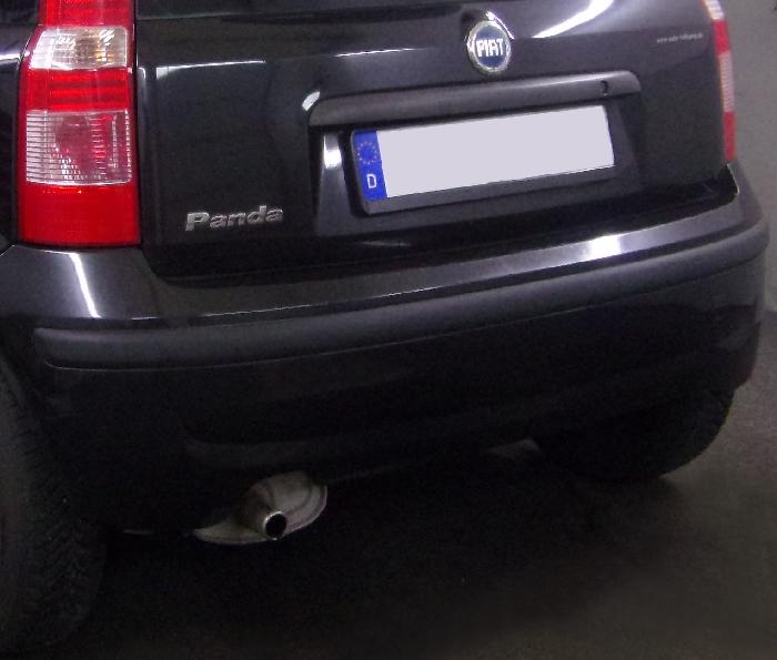 Anhängerkupplung Fiat Panda nicht 4x4, nicht Gasantrieb, Baureihe 2003-2011  feststehend