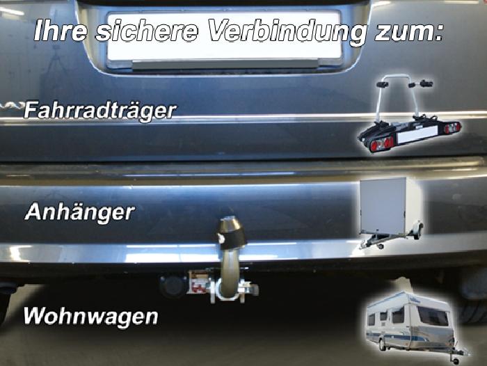 Anhängerkupplung für Ford-C-Max, Baureihe 2015-  horizontal