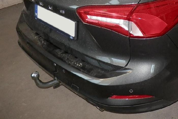 Anhängerkupplung Ford-Focus Kombi, nicht RS, mit Elektrosatzvorbereitung, Baureihe 2018- Ausf.:  horizontal