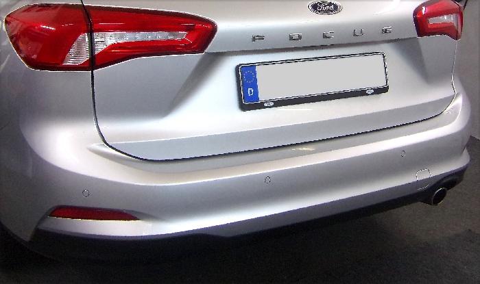 Anhängerkupplung Ford-Focus Kombi, nicht RS, mit Elektrosatzvorbereitung, Baureihe 2018- Ausf.:  feststehend