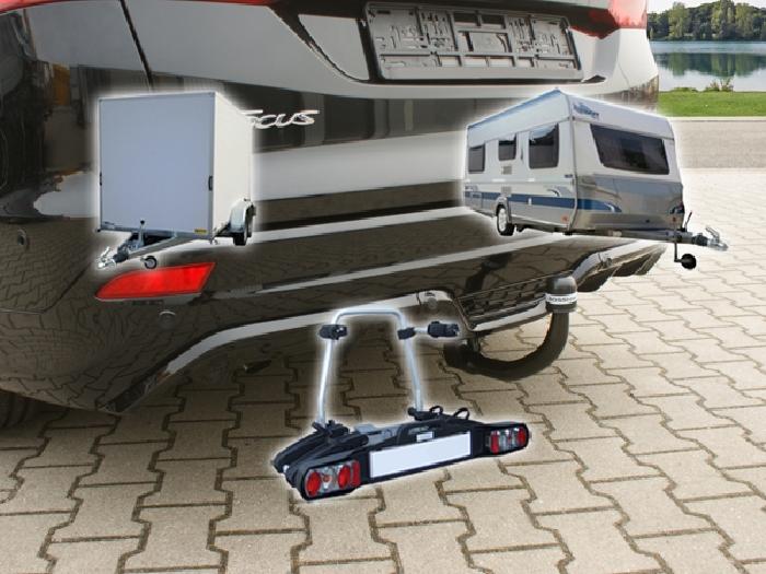 Anhängerkupplung abnehmbar für Ford Focus ST line Kombi, AHK ...