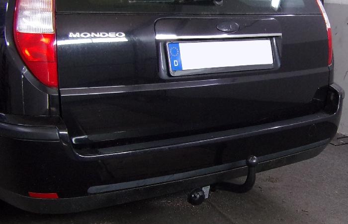 Anhängerkupplung für Ford-Mondeo Turnier, ohne Niveauregulierung, nicht, 4x4, nicht RS,ST, nicht Titanium, Baureihe 2000-2007  feststehend