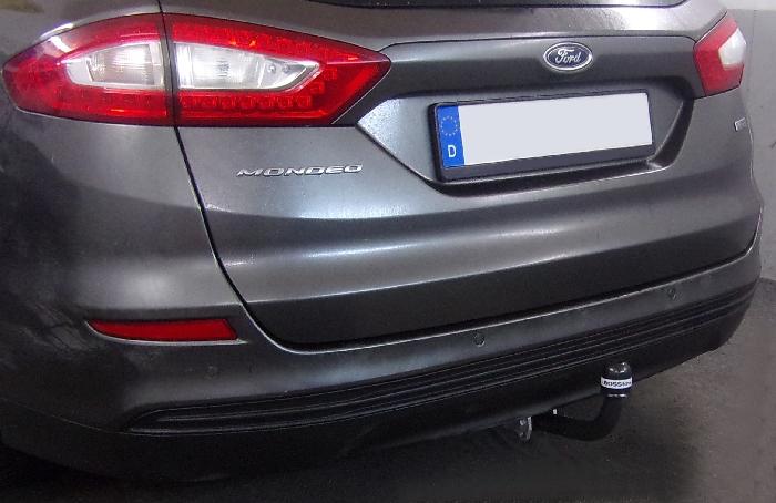 Anhängerkupplung für Ford-Mondeo Fließheck, nicht 4x4, nicht RS,ST, Baureihe 2015-  feststehend